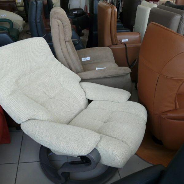 Drapp szövet mechanikus,körbeforgós Relax fotel F060
