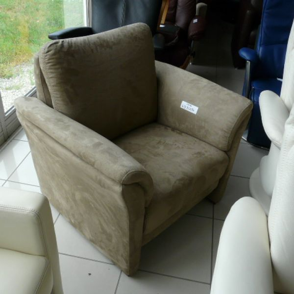 Világos barna szövet fix Tv fotel F076