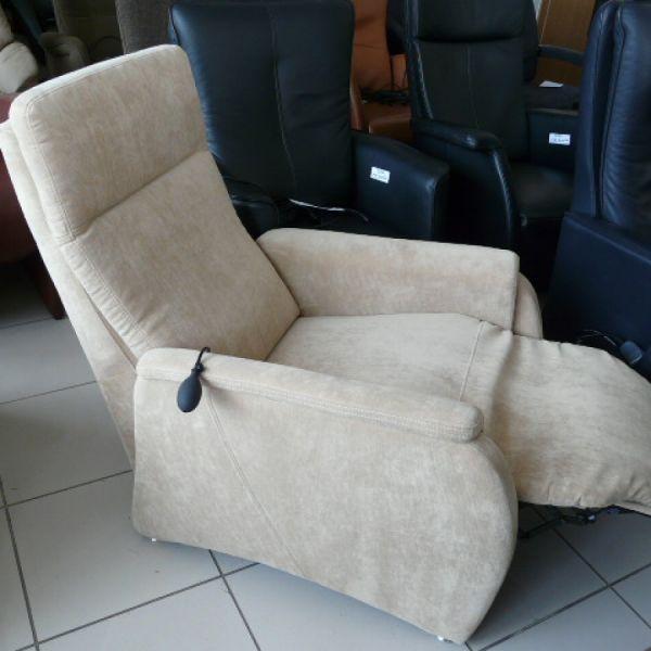 Drapp szövet mechanikus Relax fotel F069