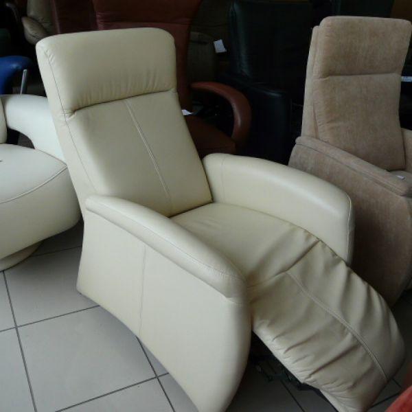 Vaj bőr mechanikus Relax fotel F064